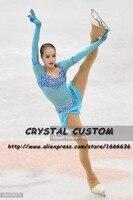 Crystal Custom Figure Skating Dresses Girls New Brand Ice Skating Dresses For Competition DR4594