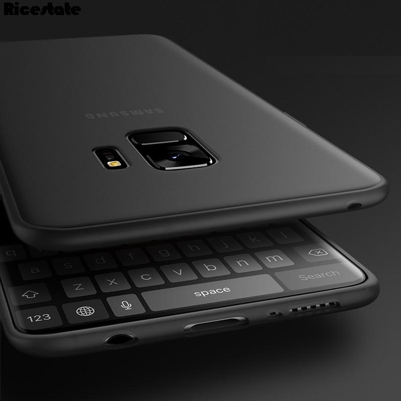 For Samsung Galaxy S9 S9 Plus S10E S10 Plus 0.3mm Ultra Thin Matte Plastic Back Cover Case for Samsung S9 Plus Fashion Case