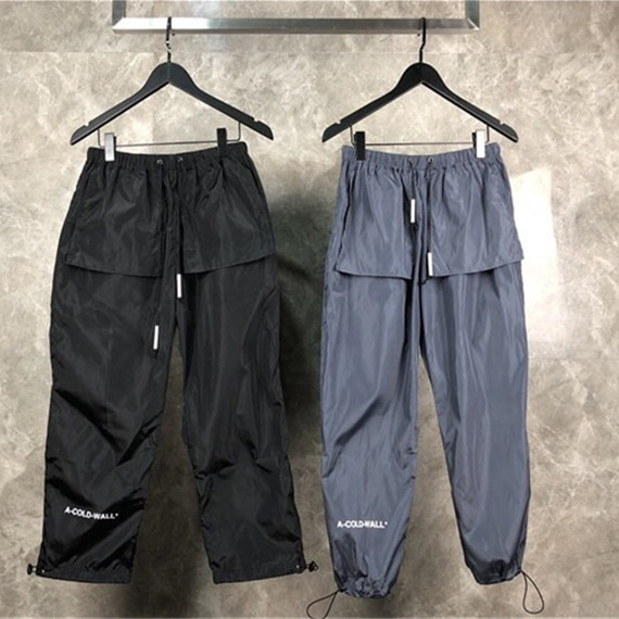 ACW A-COLD-WALL Pants Men Women 1:1 High Quality Trousers 2018FW Fashion Casual Hip Hop Streetwear Sweatpants ACW