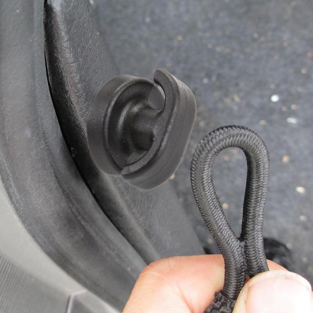 سيارة التمهيد الخلفية جذع قفاز تخزين صافي كليب السحابة ل فولفو فورد التركيز VW فولكس واجن جيتا MK6 جولف 5 6 7 لسكودا فابيا