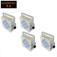 4pcs Lot 9 18W 6in1 RGBWA UV Battery Wireless LED Par Light DMX High Quality Battery