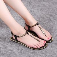 New Summer Women Sandals Fashion Casual Shoes Flat Sandals Flip Flops Shoes Footwear Beach Ladies Soft