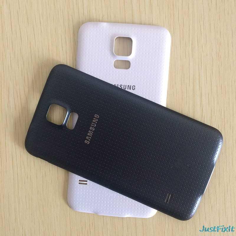 Для SAMSUNG Galaxy S5 G900F G900A G900P S5 MINI G800 G800F задняя крышка батарейного отсека задняя стеклянная крышка Корпус чехол Замена батарейного отсека