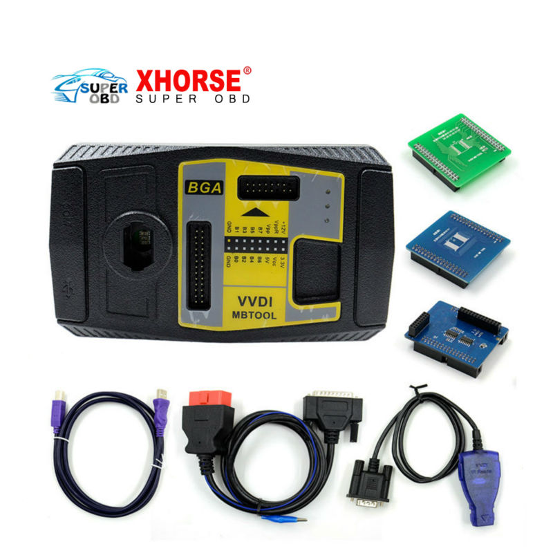 Original Xhorse V2 1 1 VVDI MB BGA TooL Benz Key Programmer Including BGA Calculator Function