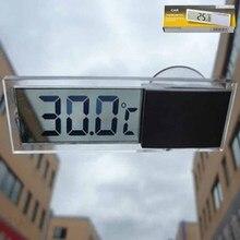 Электронный Автомобильный дисплей автомобиля Термометр Электрический присоска ЖК-дисплей датчик температуры диагностический инструмент