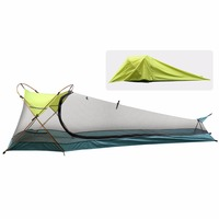 Camping Tent, Waterproof Portable Lightweight Single Person Outdoor Instant Cabin Tent, Sun Shelter for Camping, Hiking, Riding