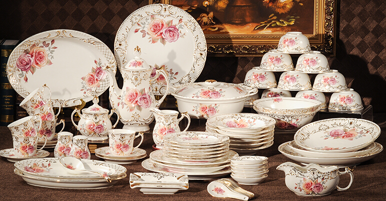 dinnerware sets 72 pieces ceramic tableware set bone china dinner set