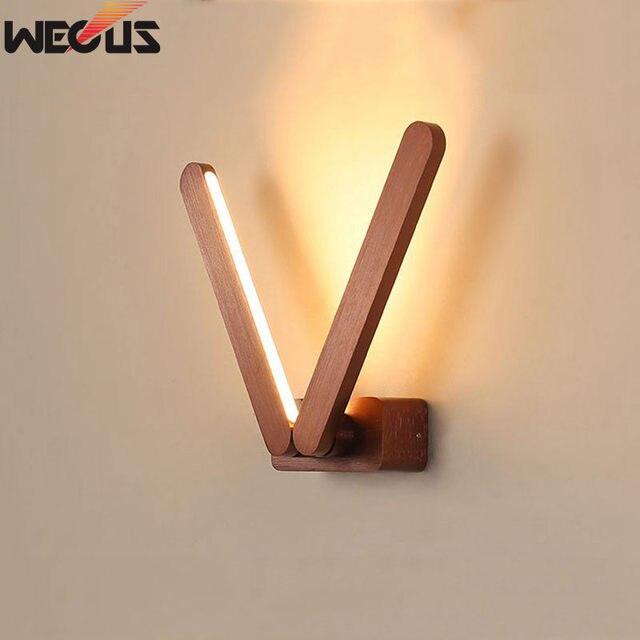 Современный минималистичный креативный вращающийся прикроватный светильник для спальни, гостиная/кабинет/гостиничный коридор алюминиевый Матовый светодио дный светодиодный настенный светильник