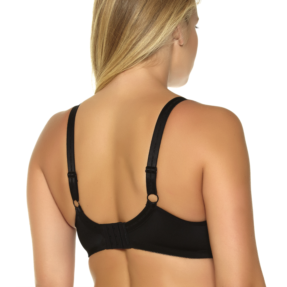 MiaoErSiDai Women Basic Comfort Plus Size Bra Bralette Soutien Gorge Push Up Bras for Women C D DD DDD E F G 36 38 40 42 44 46 in Bras from Underwear Sleepwears