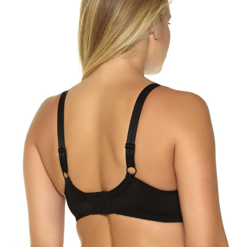 af4bc9709 ... MiaoErSiDai Women Basic Comfort Plus Size Bra Bralette Soutien Gorge  Push Up Bras for Women C D ...