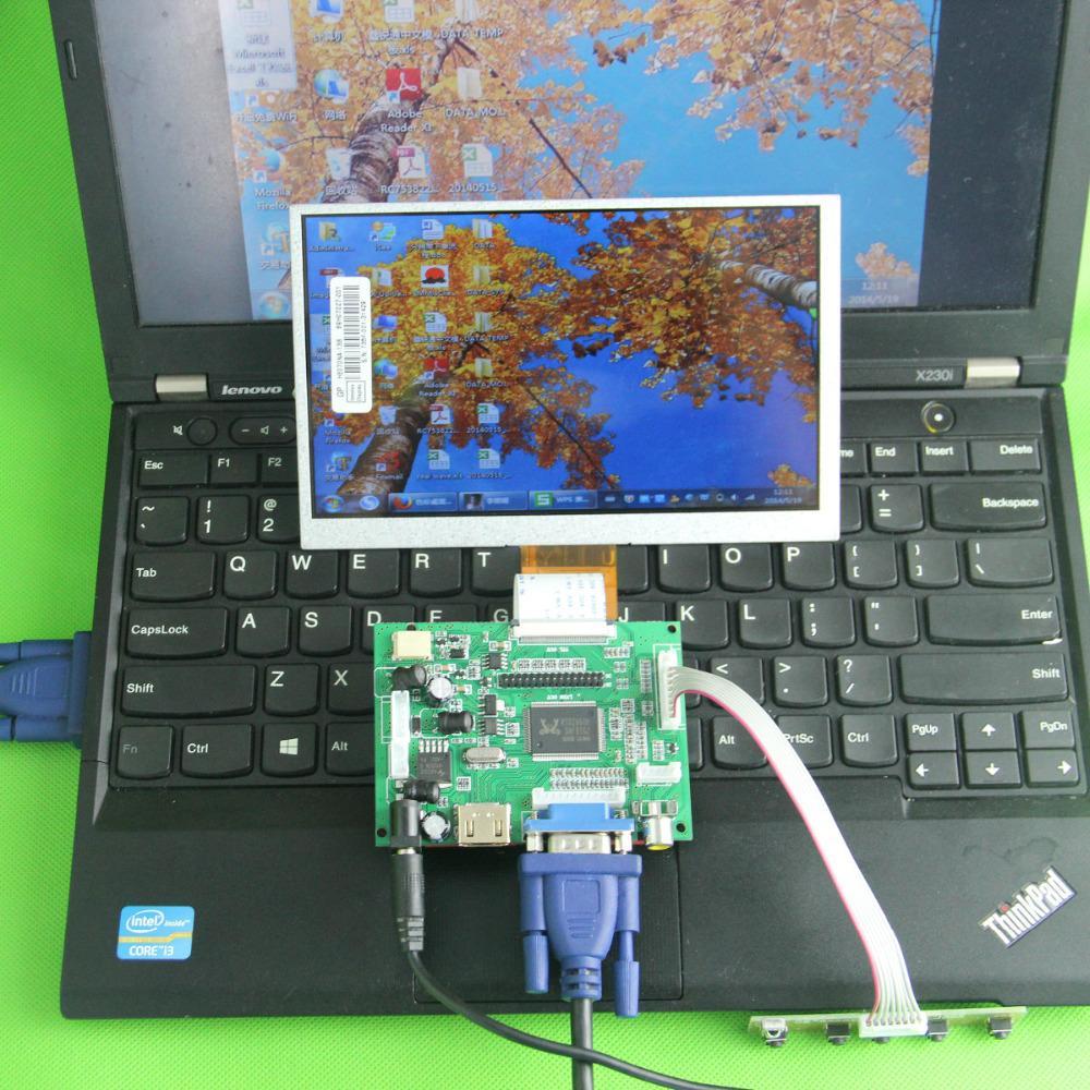 DIY 7 car driver board kit car diy ips screen 1024*600 50PIN-40PIN +controller +remote HDMI+VGA+A2V FOR Raspberry pi tengying l298n motor driver board for raspberry pi red