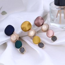 Korean Headwear Fashion Simple Candy ColorDuckbill Clip for Girl Women Temperament Beautiful Hairpins Hair Accessories