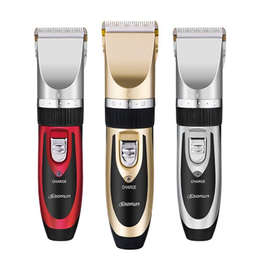 110-240 V professionnel électrique tondeuse à cheveux pour adultes enfants tondeuse cheveux coupe Machine barbe Trimer pour Salon de coiffure