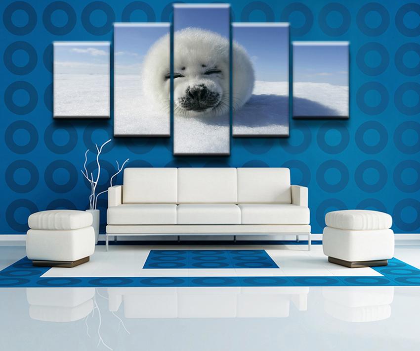 Pintura Casa Moderna. Top Venta Caliente Panel Hermosa Sol Acuosa ...