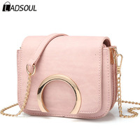 Ladsoul Mini Women Handbags Women Messenger Bags Pu Leather Handbag Flap Crossbody Bag Female Clutches Small