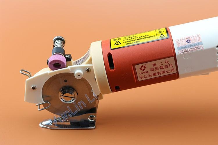 Electric Round Knife Cloth Scissors 65mm Handheld Fabric Cutting Machine Fast Speed Cloth Shearing Machine цена и фото