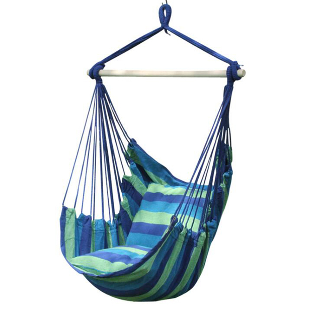 hammock chair reviews covers for tall dining chairs canvas portable outdoor cradle comfortable indoor household dormitory leasure hanging w4
