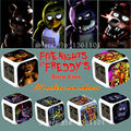 New Arrive 25 Colors 12Pcs/lot Five Nights at Freddy's Alarm Clock Model  Foxy Chica Bonnie Freddy colorful night light Toy Gift