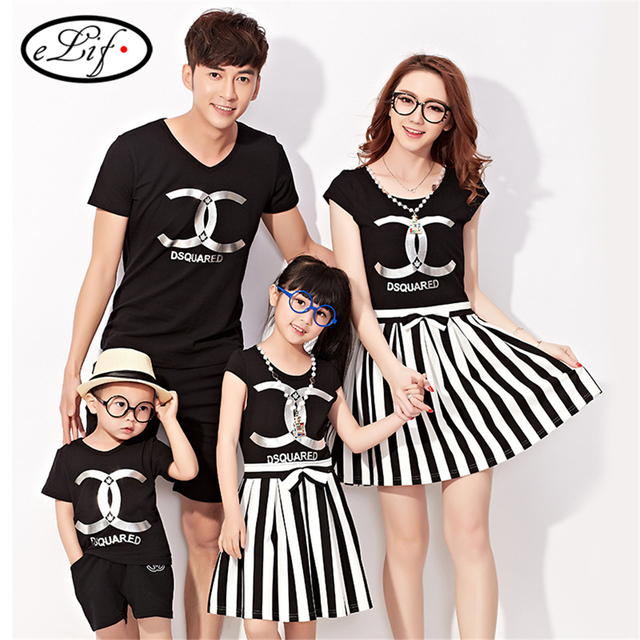 de089c791b Family Matching Outfits baby mom dad women men dress nighty girl boy dress  kids Mother father and Child dress Girls Clothing