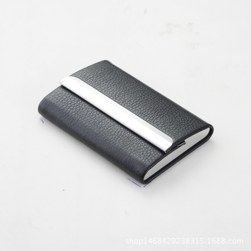 ∞Rfid Card Holder Business Card Wallet ID Credit Card Holder Men ...
