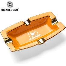 Cohiba гаджеты для сигар керамическая пепельница 4 держателя