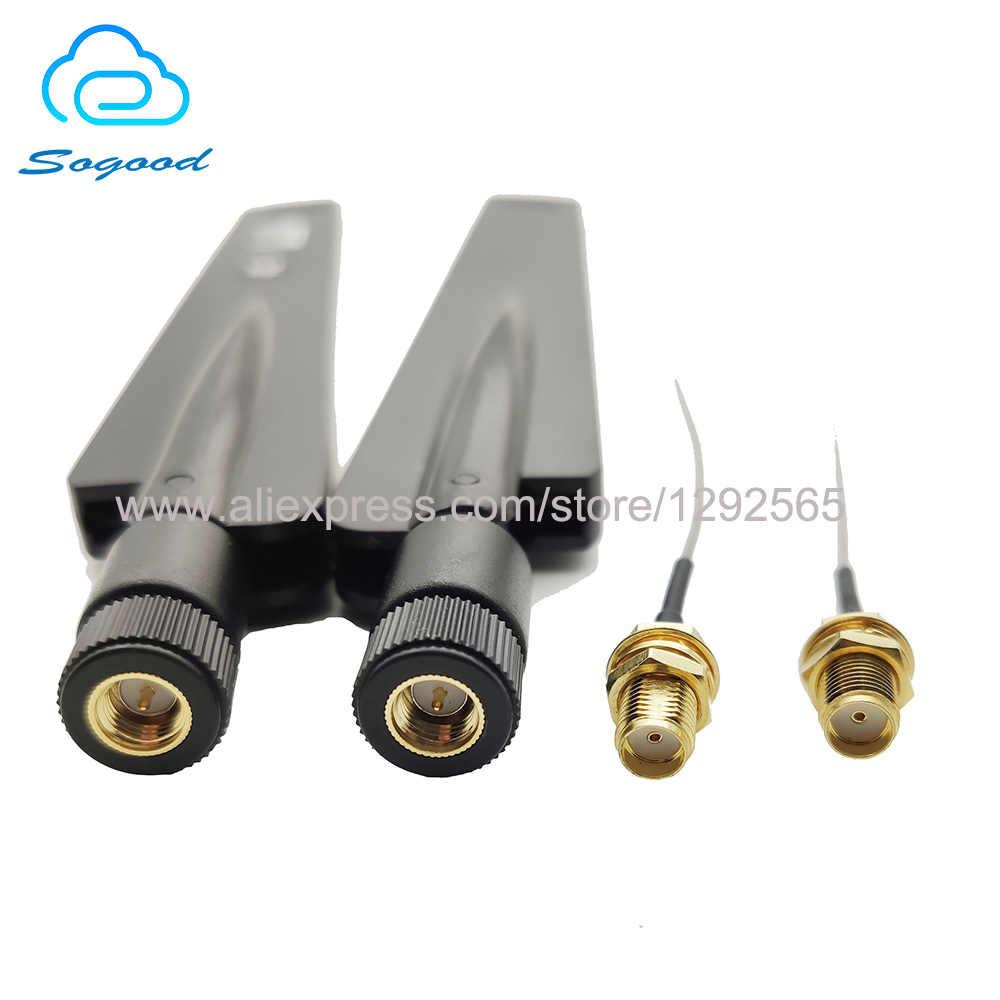 4G 38DB Guadagno Lte Antenna Esterna con Ipex a RP-SMA RG1.13 Cavo di Estensione per Quectel Simcom EC25-AF SIM7600 Mini pcie Modulo