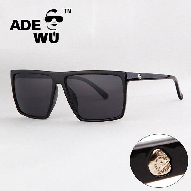 Baru Olahraga Merek Sunglasses Dengan Logo Pria Keren Kacamata Matahari  Merek mewah Designer Wanita Persegi Kacamata c682fc1678