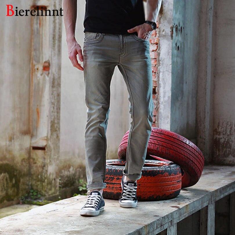 Elastic Retro Thick Line 2017 New Arrival Casual Good Quality Jeans Men,Retail & Wholesale Cotton Denim Men Jeans,151089-6