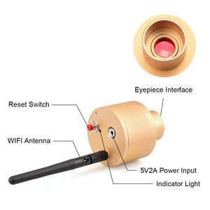 Image 3 - Svtony Webcam intelligente 1.25 pouces, WIFI 2.0mp, CMOS, USB numérique, astronomie monoculaire, objectif oculaire