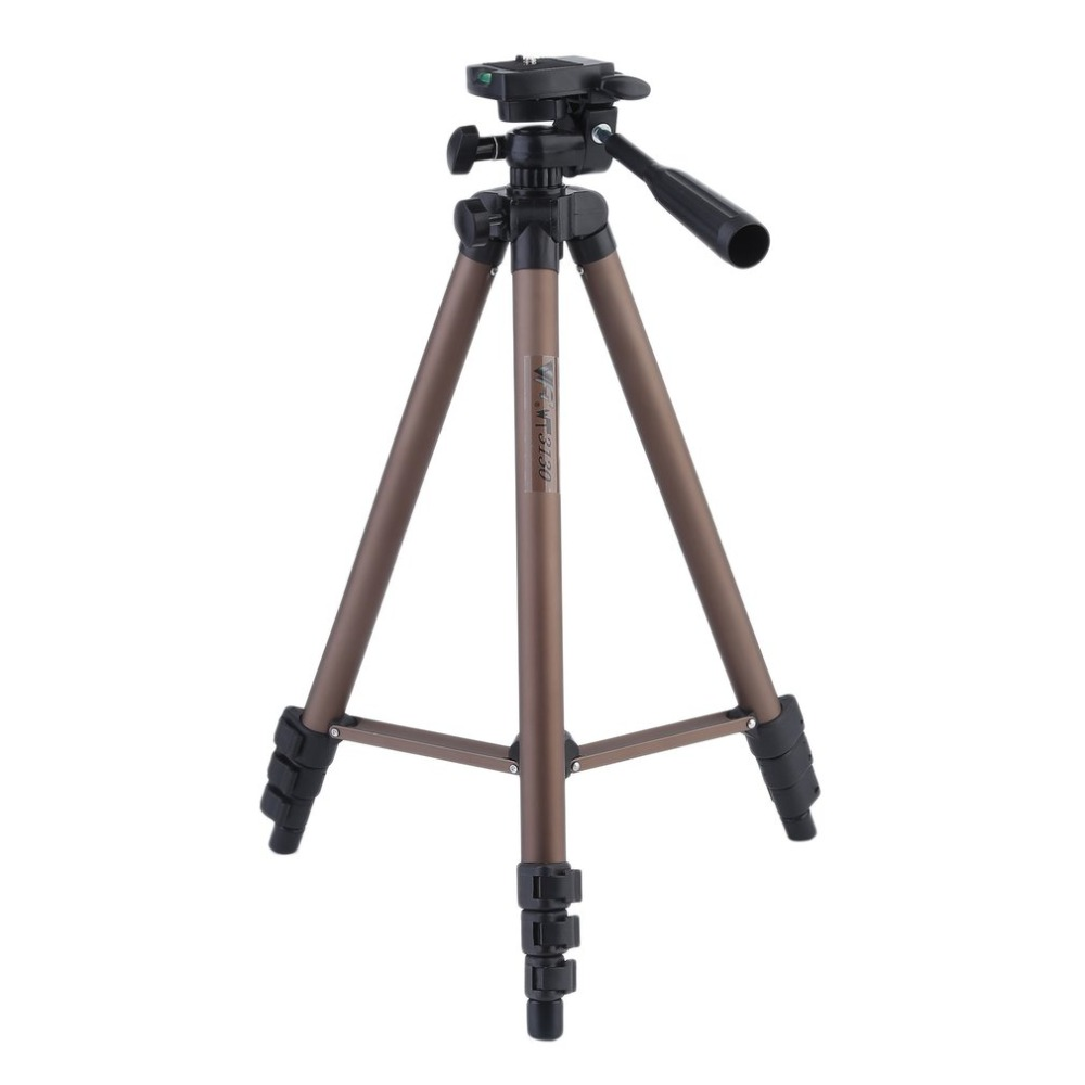 Lightweight Aluminum Alloy Camera Tripod Bracket Stand Holder With Rocker Arm For DSLR Cameras Camcorders WT3130