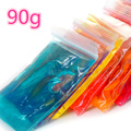 3*30g/bag Colors Clay Non-toxic Crystal Soil Magic SLIME DIY Pretend Play Form Into Model Transparent Handgum Smooth Brinquedos