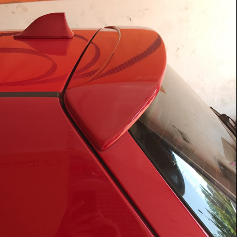 For Volkswage VW Golf 4 IV MK4 Standard and R32 1998-2004 ABS Unpainted Grey Back Windshield Spoiler ...
