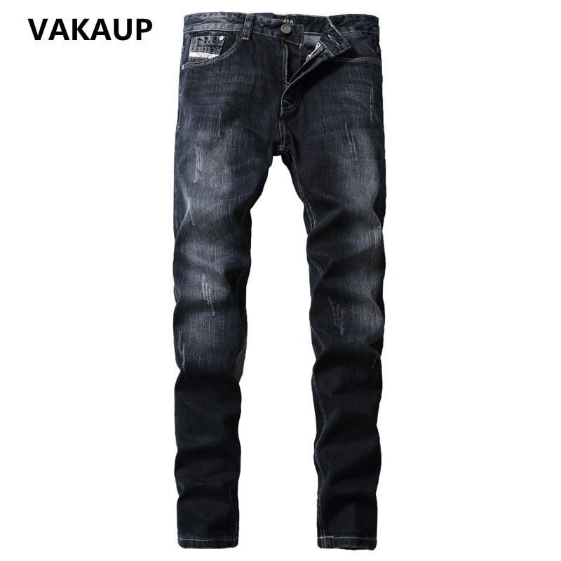 ФОТО Mens Jeans Homme Brand Arrival Jean Design Slim Fit Fashion Jeans denim Pants Overalls Men Good Quality Black Skinny Jeans Men