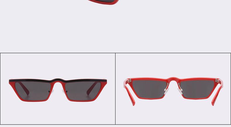 HTB1K9eqcbYI8KJjy0Faq6zAiVXa7 - Winla Fashion Design Women Sun Glasses Flat Top Sunglasses Square Frame Classic Shades Vintage Eyewear Oculos de sol WL1145