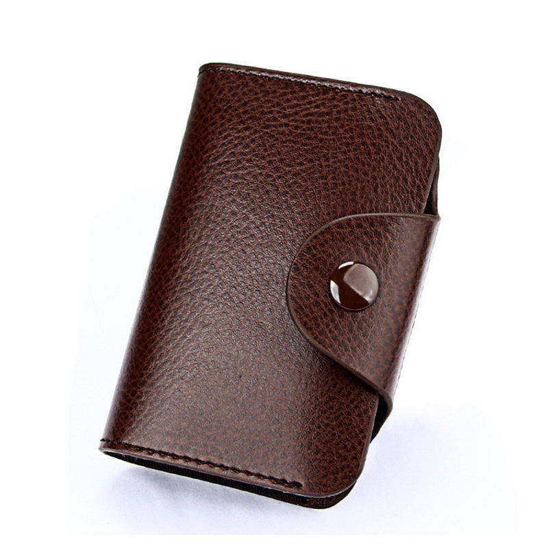 Westcreek Brand Vintage Large Capacity Men Cardholder Split ...