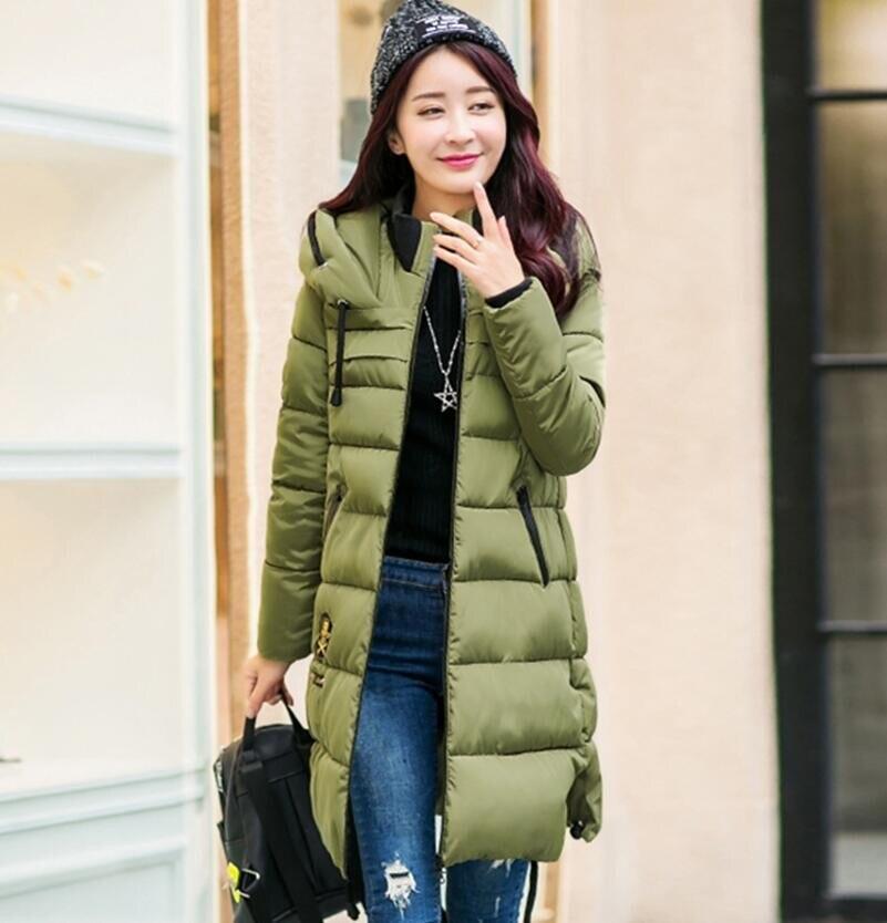 2016 Winter Thickening Women Parkas Women s Wadded Jacket Outerwear Fashion Cotton padded Jacket Medium long