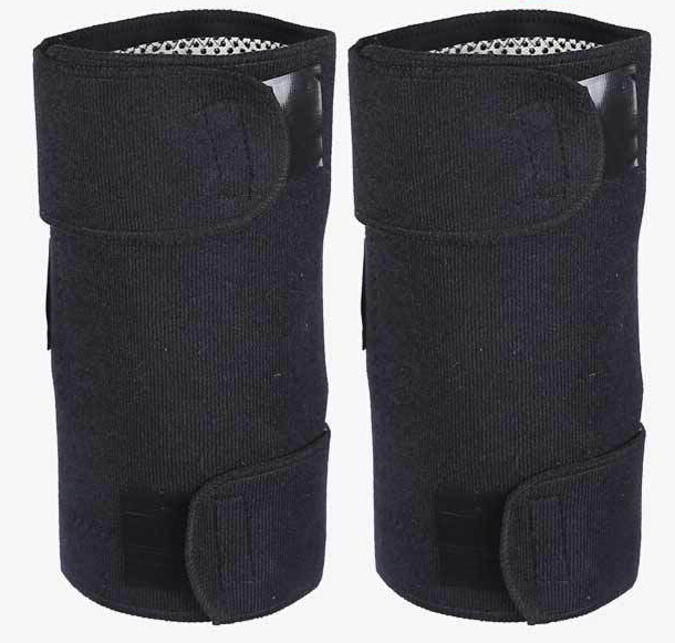 1Pair Tourmaline Self-Heating Knee Leggings Brace Support Magnetic Therapy Knee Pads Adjustable Knee Massager Health Care L45 2
