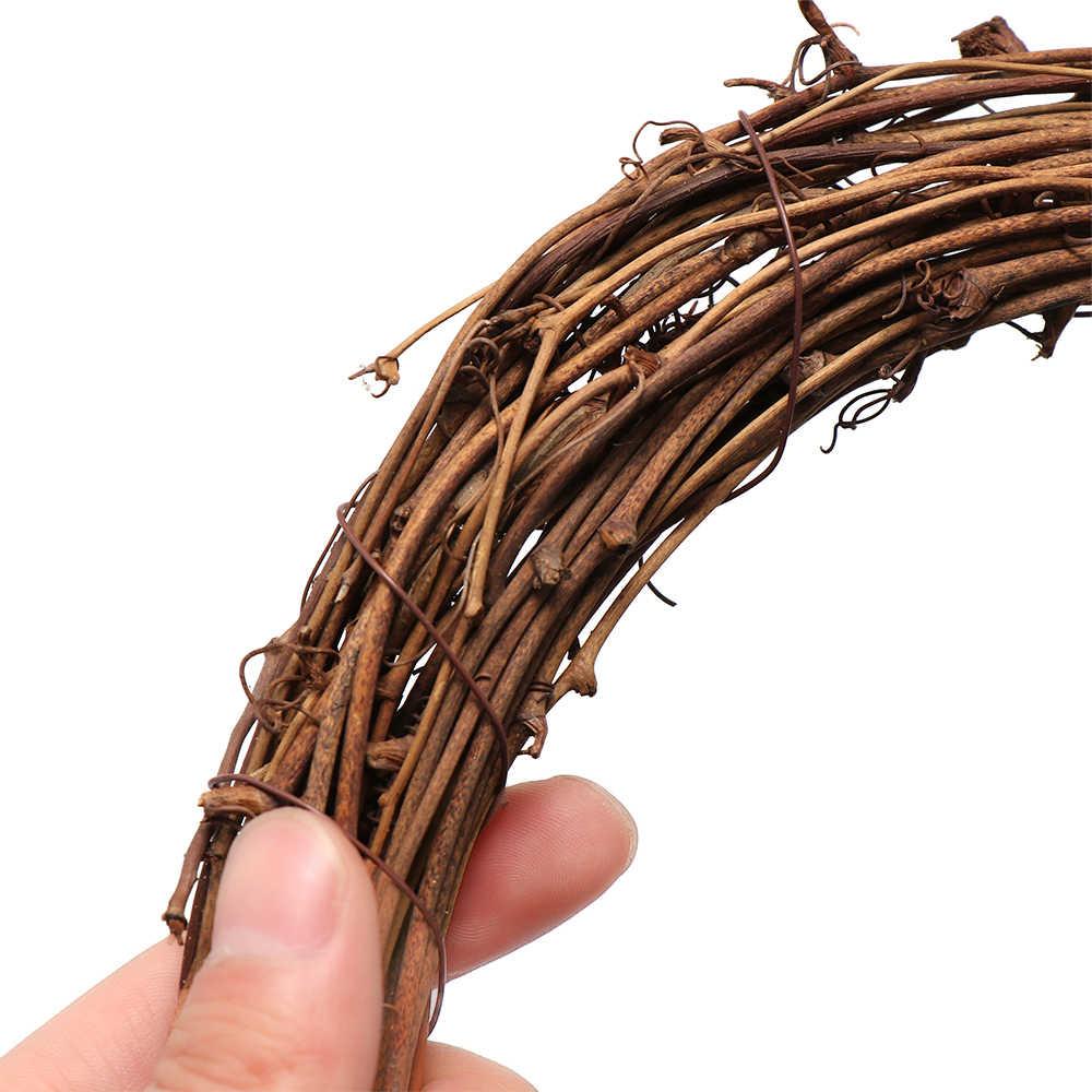 Guirlande décorative pour Ramadan 8-30CM | Guirlande décorative en rotin éid murécorce pour couronne de mariage, bricolage de couronne pour fête, fenêtre, porte suspendue