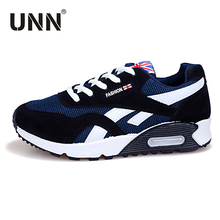 UNN  Women Running Shoes Typical Ladies Shoes Outdoor Walking Shoes Men Sneakers Women Black/Red Comfortable Sport Shoes Woman