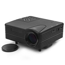 TOPS LZ – H80 80 Lumens 480 x 320 Pixels Mini LED Frosted Projector Support HDMI AV VGA SD Card Input Dust Free Design Projector