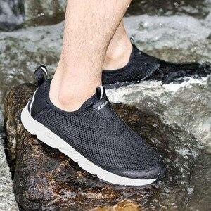 Image 5 - Youpin zaofeng נעלי ספורט קל משקל לאוורר אלסטי סריגה לנשימה מרענן קריק החלקה ספורט לגבר אישה
