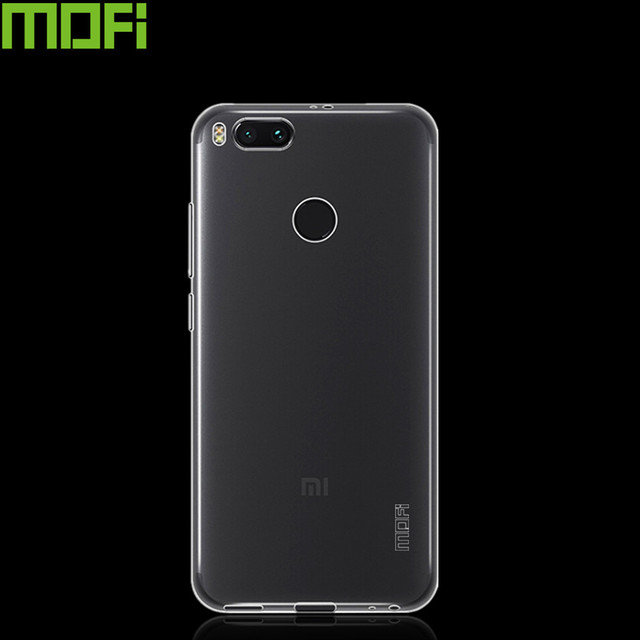size 40 54a17 54535 US $5.39 |For XiaoMi MiA1 Case Silicon Soft Back Cover MOFi Transparent TPU  Cover Case For Global Version Xiaomi Mi A1 Cell Phone Cover-in Fitted ...