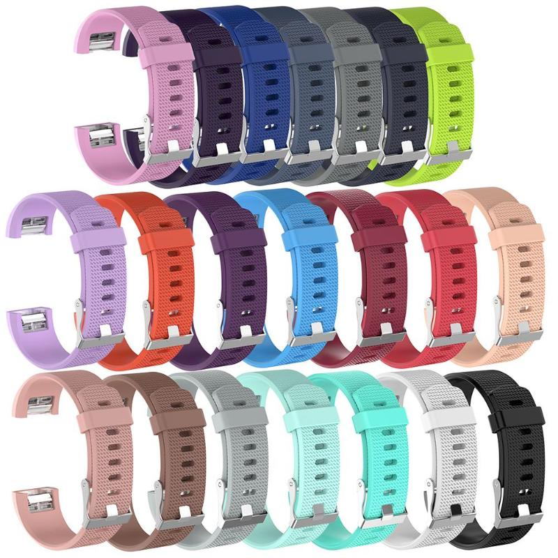 ALLOYSEED Smart Bracelet Watch Band Strap For Fitbit Charge 2 Wristband Soft Silicone Replacement Watchband For Fitbit Charge2 стоимость