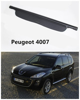 Car Rear Trunk Security Shield Cargo Cover For Peugeot 4007 2007 2016 High Qualit Auto Accessories