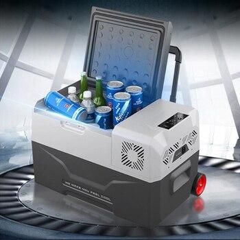 30/40/50L Refrigerator Auto-Refrigerator 12V Portable Mini Fridge Compressor Car Refrigerator Car Fridge Camping Nevera Portatil