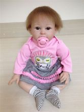 Retail Good Price 55cm 22inch Silicone Baby Doll With Cute Hat Supernatural Babies Toy Acompany Toys Limited Edition Reborn Doll