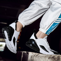 Men Vulcanized Shoes Lace up Low Top White Male Sneakers Couple Leisure Athletic Flat Running Mesh Black Shoes Light Sneaker