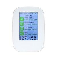Air анализаторы метр Портативный многофункциональный детектор качество воздуха Indoor/Outdoor HCHO/TVOC тестер CO2 метр монитор тестер