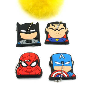 The Avengers Protective Key Case Cover for Key Control Dust Cover Holder Cartoon Silicone Organizer  Home Accessories Supplies