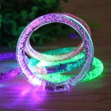 Светящийся браслет светодиодный светильник светящиеся электронные детские игрушки красочный светящийся браслет